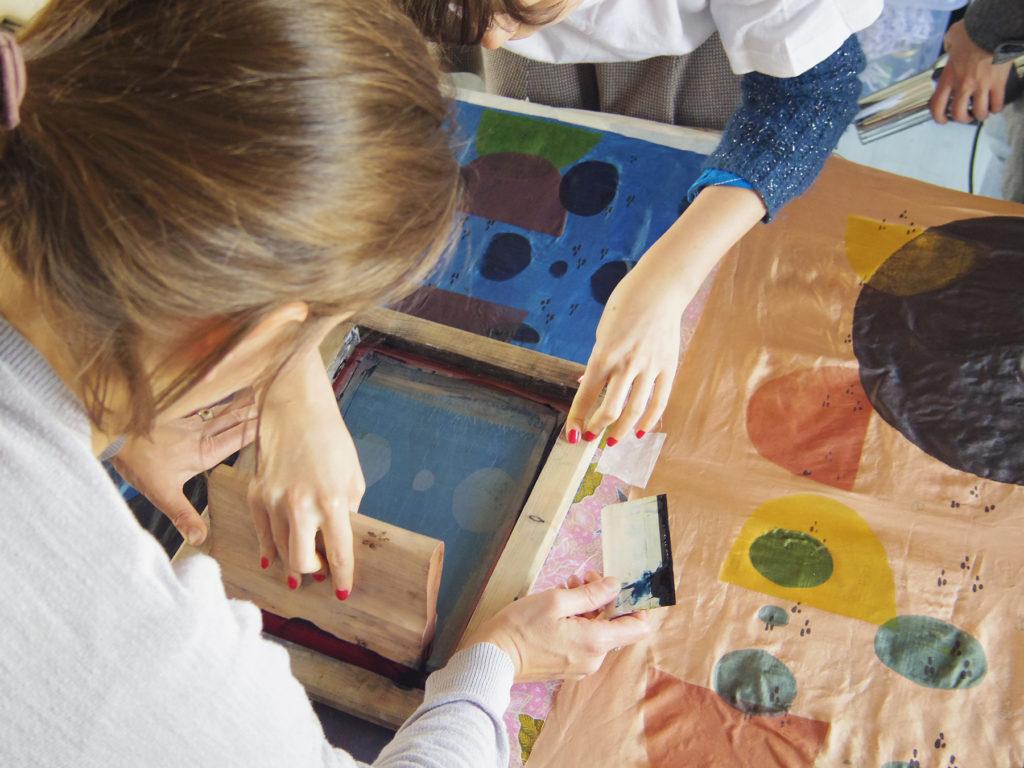 Formation de perfectionnement à l'impression textile en couleurs naturelles