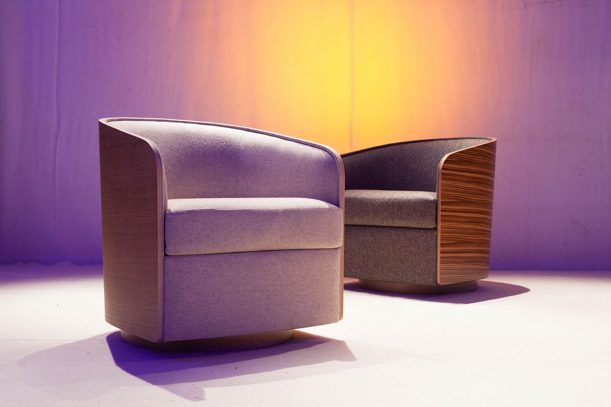 fauteuil coque manufacture D'Argentat