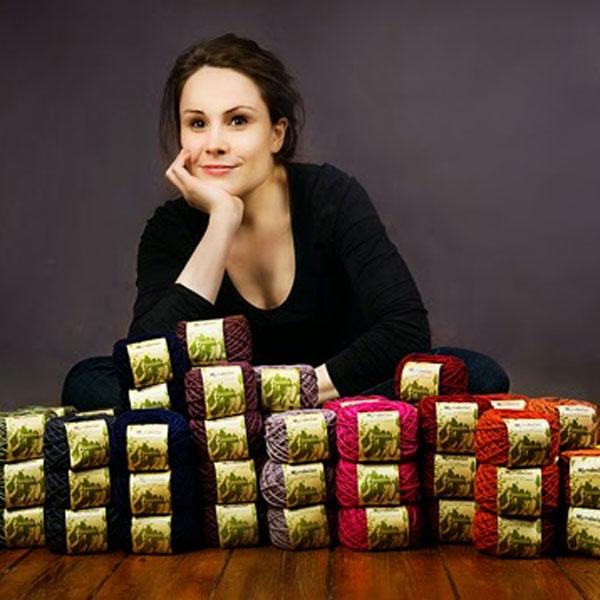 Portrait de Charlotte Marembert, designer textile et teinturière végétale